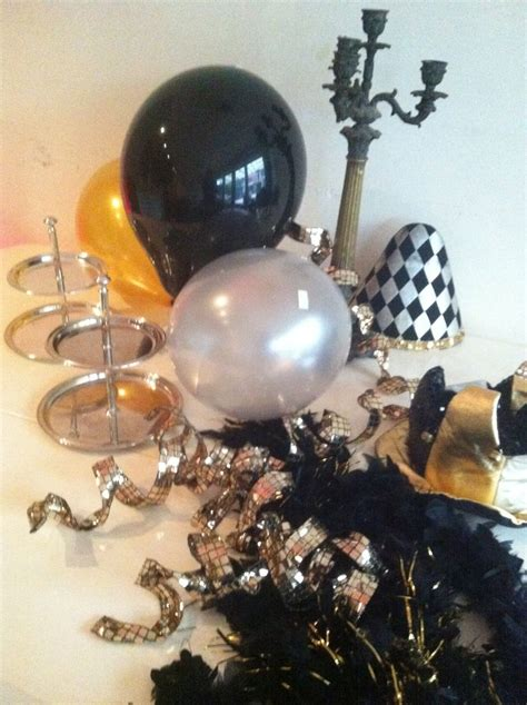 Black Gold Silver Decorations by 17 Best Images About Silver Black And White Decorations On Black White