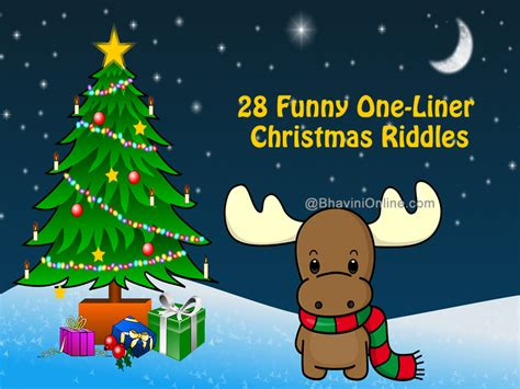28 funny one liner christmas riddles bhavinionline com