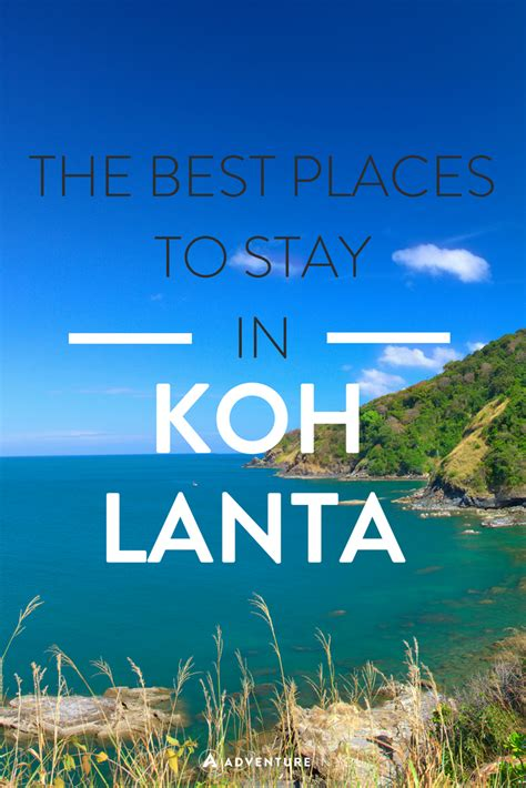 koh phangan best place to stay best places to stay in koh lanta thailand southern