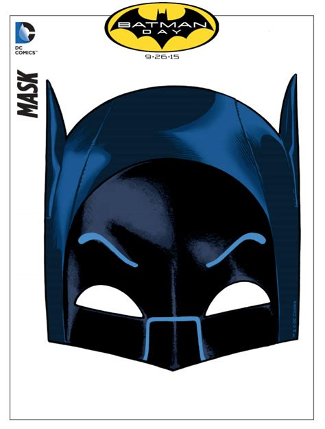 Free Batman Mask and Activity Printables   TodaysMama
