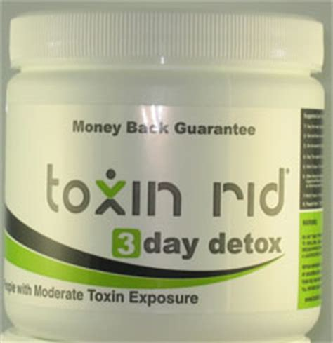 3 Day Detox Thc by 3 Day Detox Toxin Rid Review Detox Marijuana Fast
