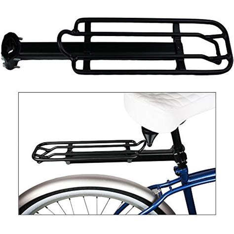 Avenir Cling On Seatpost Racks by Bicycle Bike Rack Seat Post Rack Cling On Easy