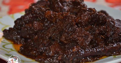 dapur mamasya daging masak hitam  sedap