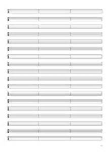 Free blank sheet music and tab paper to download images frompo