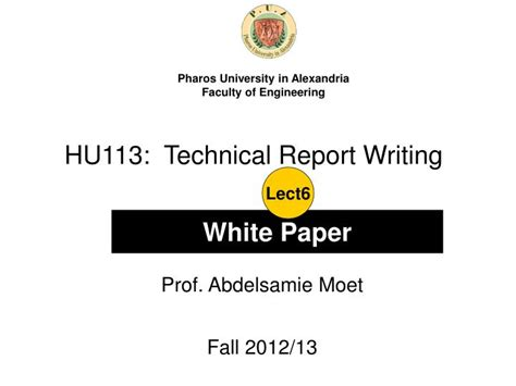 Technical Report Writing Exles Ppt by Ppt Hu113 Technical Report Writing Powerpoint Presentation Id 4475747