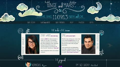 33 Unique Wedding Website Examples To Inspire You