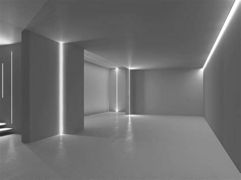 illuminazione da parete per interni microfile profilo per illuminazione lineare by lucifero s