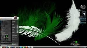 themes for windows 7 nvidia nvidia black 7 glass theme by x ile2010 on deviantart