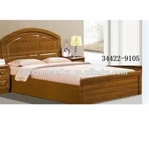2015 new design 34422 9105 wooden mdf golden double bed
