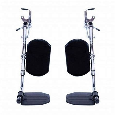one leg wheelchair invacare wheelchair elevating foot leg rest w padded calf