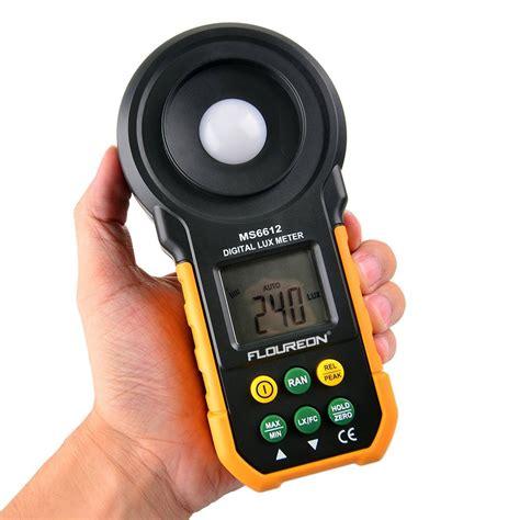 Dekko Hs 6612 Digital Meter high accuracy floureon ms6612 light meter test spectra auto range multifunctional digital