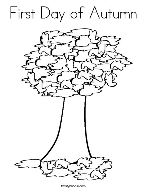 coloring pages of autumn tree free autumn tree coloring pages