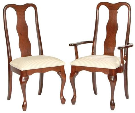 Queen Anne Dining Room Chairs by Ann Arden Amish Queen Anne Dining Chairs Dining Chairs