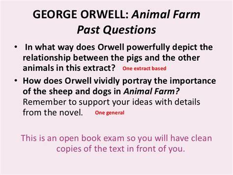 biography george orwell animal farm george orwell biography with questions animal farm essay