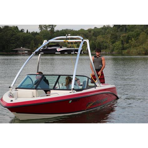 boat bimini top tower cargo rack bimini seattle watersports