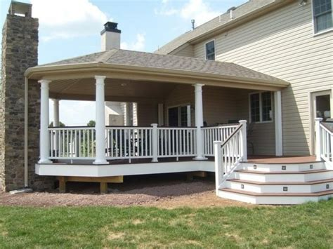 Covered Porch Plans by Covered Deck Pictures And Ideas
