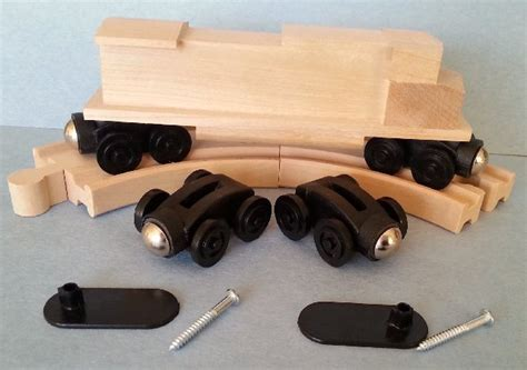 engine coupler assembly    wooden trains
