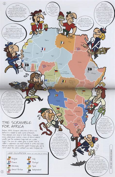 Jsbgeography The New Scramble For Africa
