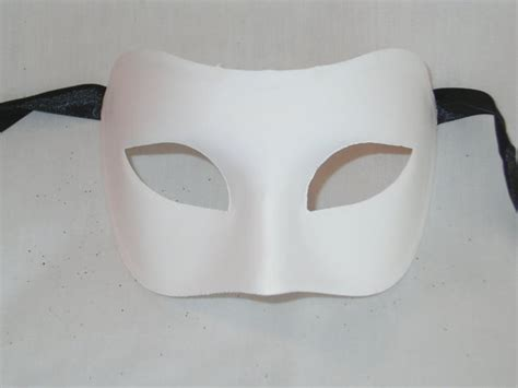 How To Decorate A Mask by Blank Masquerade Mask For Decorating