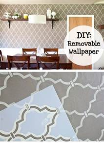 Removable Wallpaper For Renters by Diy Removable Wallpaper