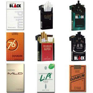 Djarum L A 16 this djarum assorted cigarettes package contains 1 pack
