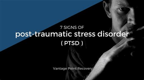 signs  post traumatic stress disorder ptsd