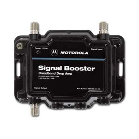 motorola signal booster 484095 001 00 bi directional rf lifier tv indoor antennas