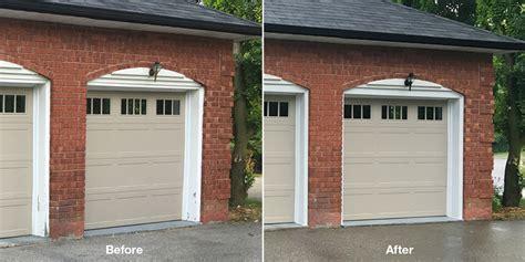 Garage Door Keeps Stopping Stop Repainting The Frames Around Your Garage Doors Cap