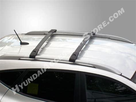 genuine hyundai tucson crossbar kit