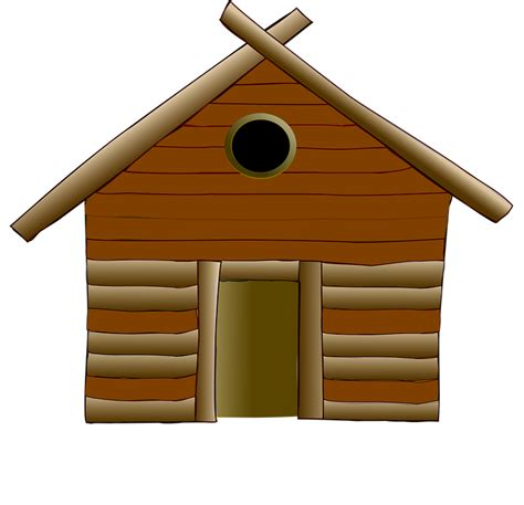 log cabine free vector graphic log cabin cottage house wood