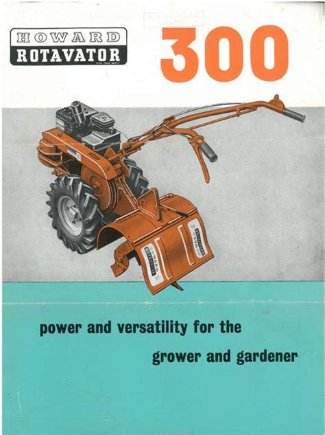 howard  rotavator brochure