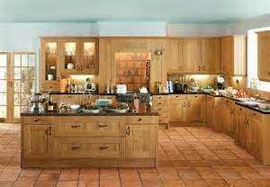 Oak Kitchen Furniture by Shaker Winchester Oak Kitchen Supply Only Traditional