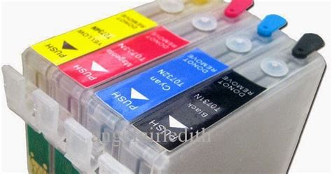 Printer Epson Tx111 By Pusat Infus jual cartridge refill 73 73n mciss epson t13x t13 t11