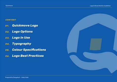 free brand and logo guidelines template designbull