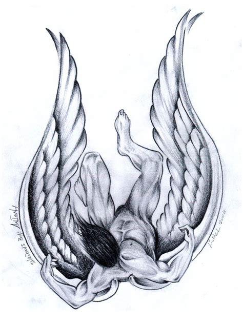 falling angel by lionel k on deviantart