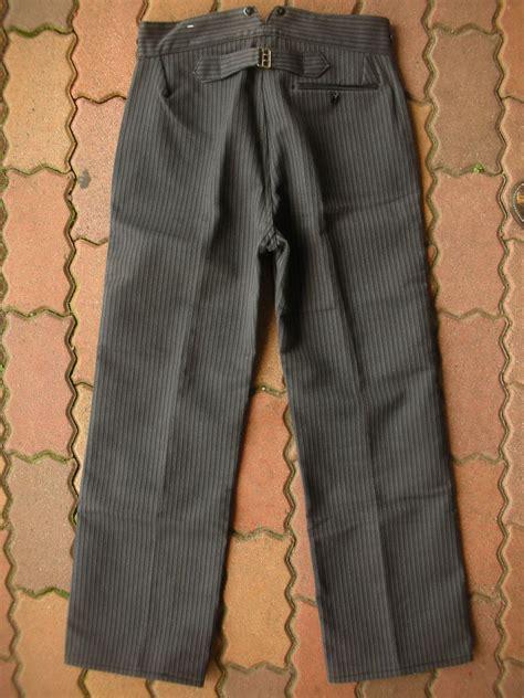 Is Vintage Fashion Really Dead by 1940 S Dead Moleskin Trousers 33x29 Rock A Hula