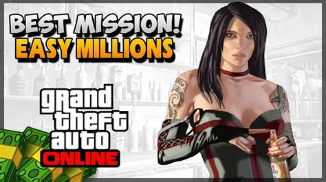 Best Mission To Make Money In Gta 5 Online - gta 5 how to make money online best money mission gta 5 money guide youtube