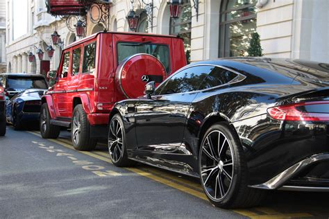 tron koenigsegg line up with a perfect vanquish a g wagon and the tron
