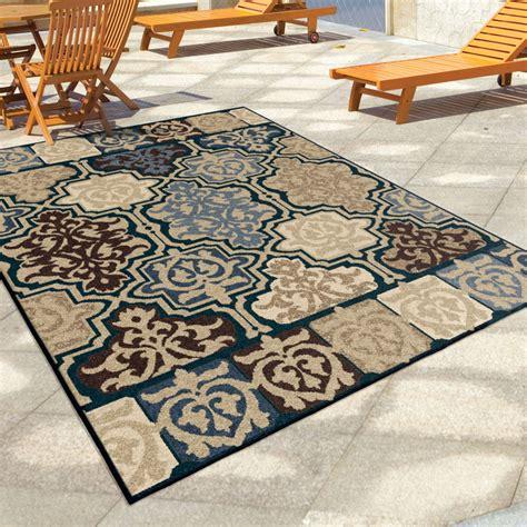 5x8 indoor outdoor rug orian rugs indoor outdoor geometric yandell multi area