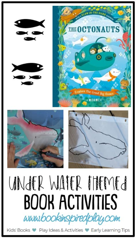 under water activity book underwater books and activites book inspired play