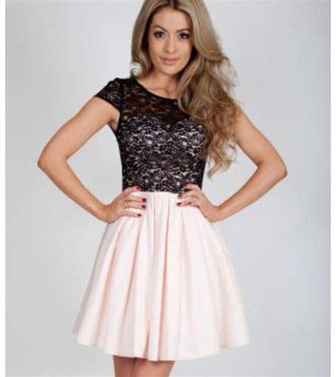 Dress Lace Pink Black dress black lace pink wheretoget