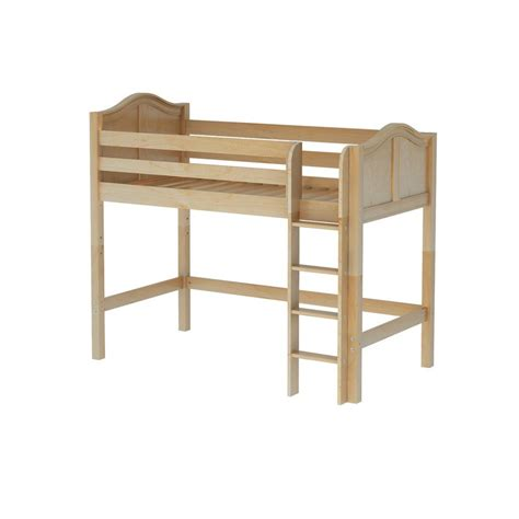 mid loft bed maxtrixkids bingo nc mid loft bed med low with