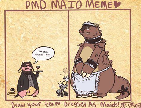 Maid Meme - team scrappy maid meme by crazyratty on deviantart