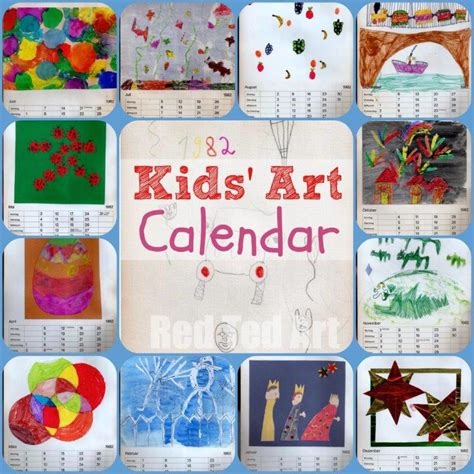 calendars for children to make calendar gifts that can make ted