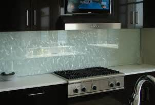 Glass Backsplashes For Kitchens Frosted Glass Backsplash For Kitchen With Texture