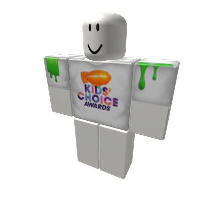choice awards t shirt roblox