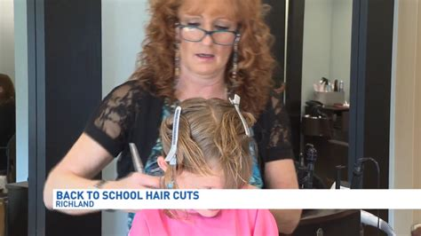 local hair salon offers free back to school haircuts for