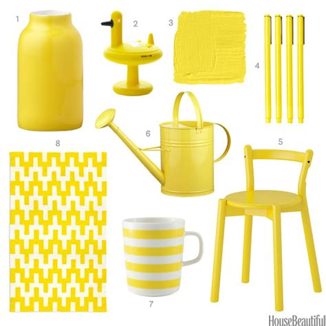 yellow home accessories yellow home decor