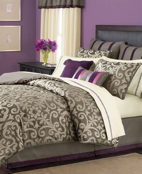 paint colors for purple bedding master bed set goes great with my paint colors master