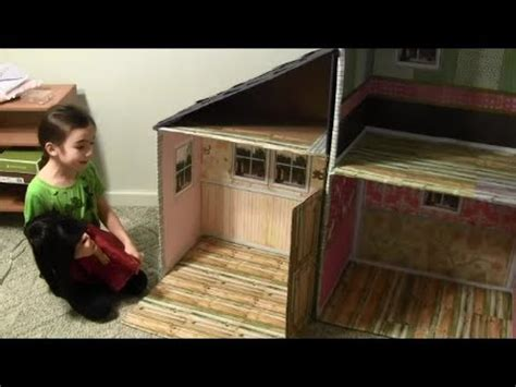 my froggy stuff doll house doll house for an 18 inch doll american girl doll youtube